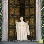 pope francis opening door 150